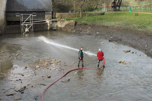 Clearing the millpond